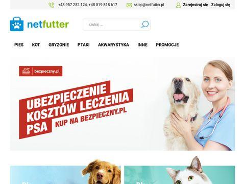 Netfutter.pl - karma dla psa