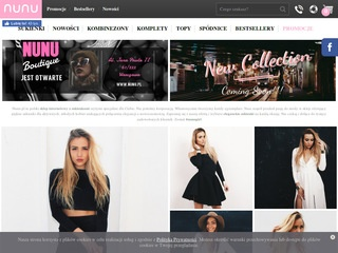 Nunu.pl sklep z sukienkami