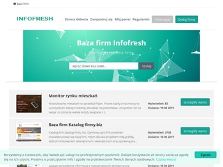 Infofresh.pl baza firm
