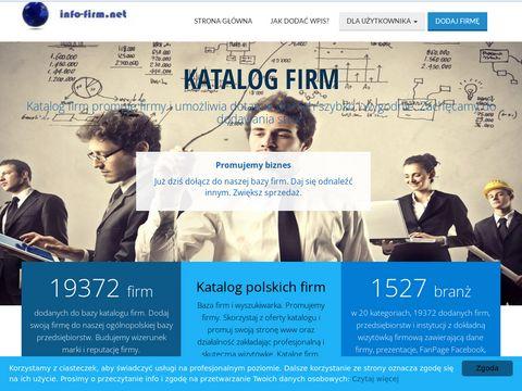 Info-firm.net baza firm i usług