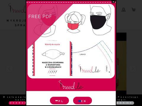 Ineedle.pl wykroje krawieckie