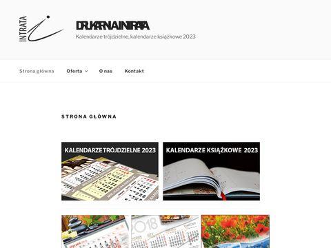 Intrata.pl kalendarze książkowe