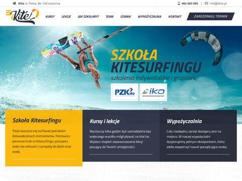 Ikite.pl kitesurfing Jastarnia