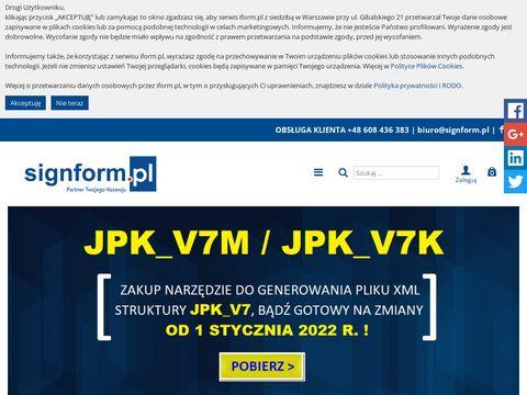 Iform.pl zaliczka na podatek dochodowy