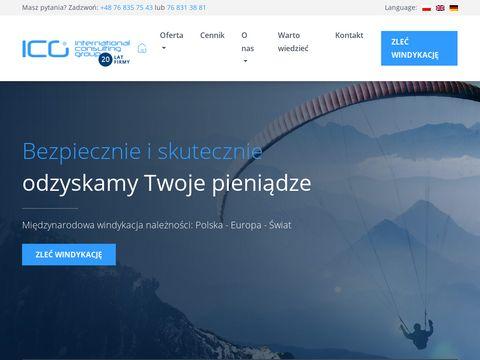 ICG Group sp. z o.o. windykacja długów