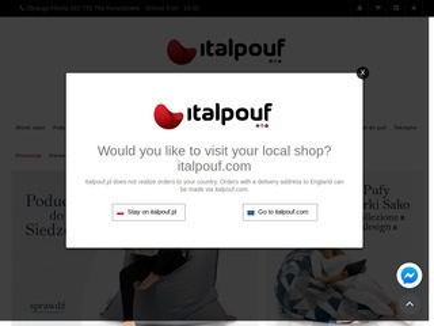 Italpouf.pl worki sako