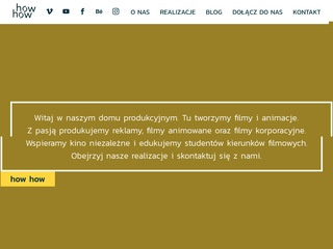 Howhow.pl świat filmu i animacji w Poznaniu