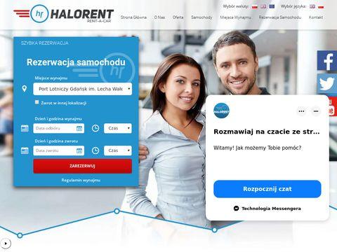 HaloRent wypożyczalnia samochodów w Gdańsku