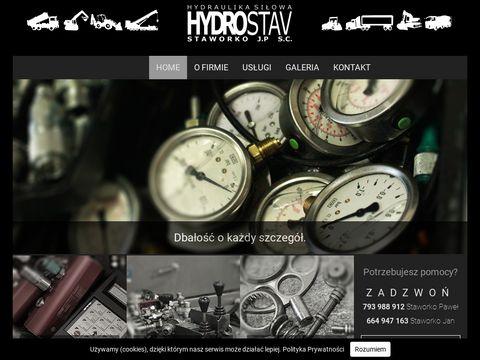 Hydrostav.pl przewody hydrauliczne Białystok