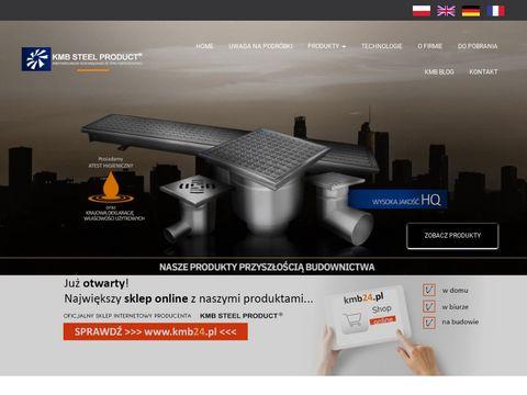 Kmb-steelproduct.eu wpusty podłogowe