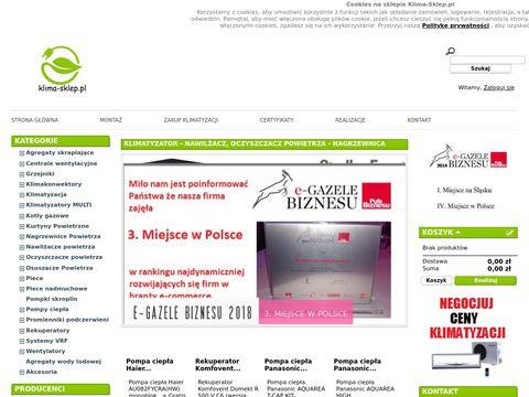 Klima-sklep.pl klimatyzacja Samsung