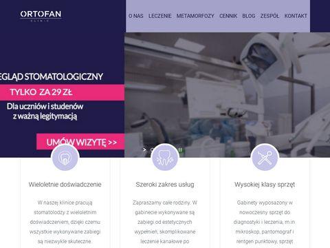 Klinikaortofan.pl protetyka 3D