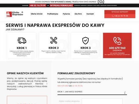 Klinikaekspresow.pl naprawa
