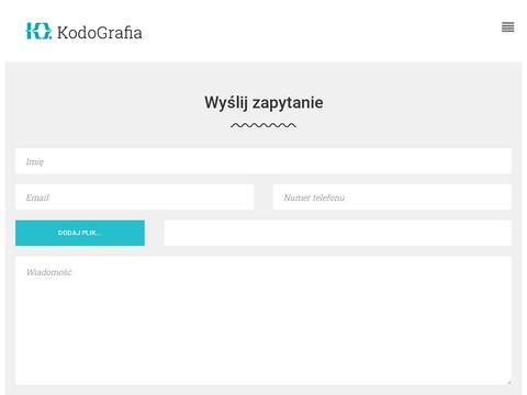 Kodografia.pl kodowanie stron internetowych