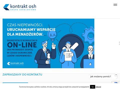 Kontraktosh.pl szkolenia dla handlowców