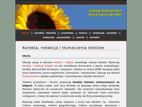 Korektortekstow.pl