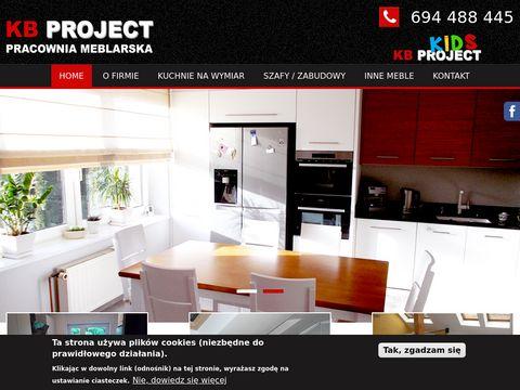 Kbproject.pl kuchnie na wymiar