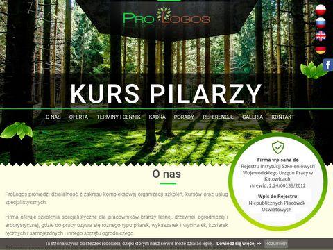 Kurspilarzy.pl obsługi wykaszarki