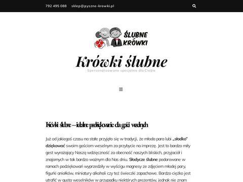 Krowkislubne.pl - słodycze ślubne