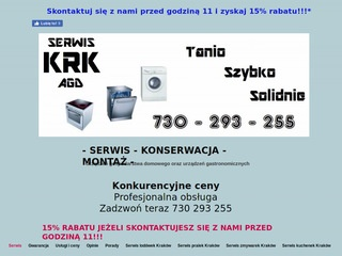 Krkserwisagd.pl Kraków
