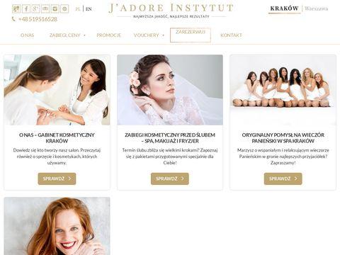 Jadoreinstytut.com redukcja cellulitu Kraków