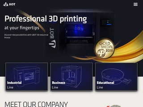 Ubot3d.pl polski producent drukarek 3D