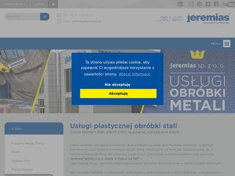 Usługi.jeremias.com.pl cięcie laserem