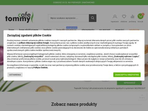 Tommycafe.pl sklep z kawą i herbatą