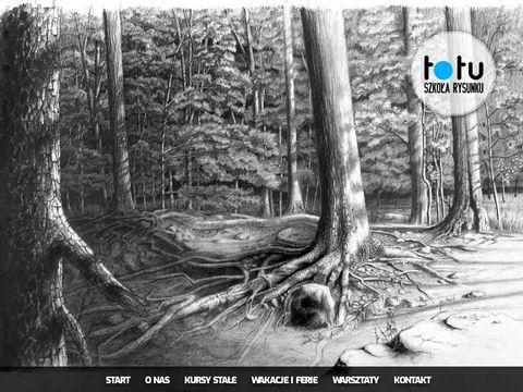 Totu.net.pl kurs rysunku Kraków