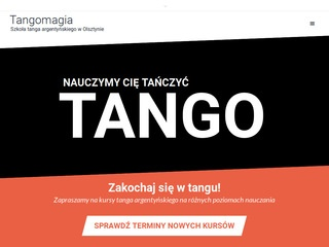 Tangomagia.pl argentyńskie Olsztyn