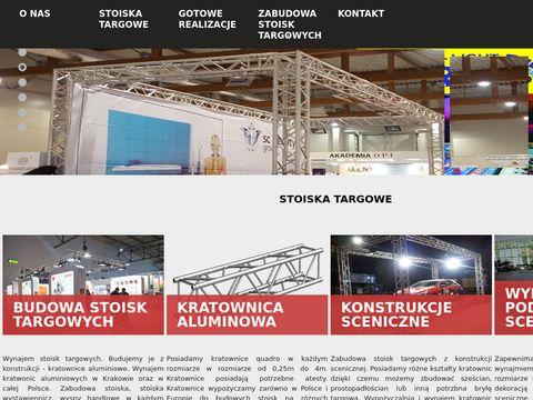 Targowe.pl budowa stoisk