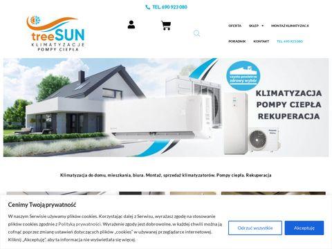 Treesun.pl klimazatycja z montażem