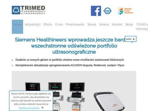 Trimed.pl - serwis USG