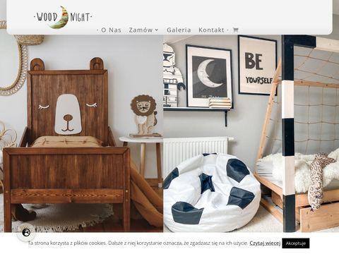 Woodnight.com.pl łóżko bramka