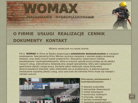 Womax-piaskowanie.pl - renowacja powierzchni