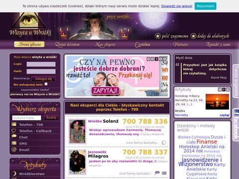 Wizytauwrozki.pl wróżby online