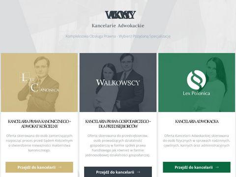 Walkowscy-kancelarie.pl prawo gospodarcze