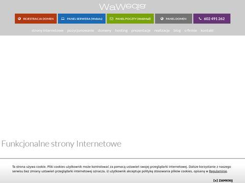 Wawmedia.pl strony internetowe Warszawa