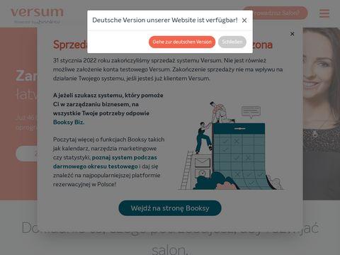 Versum.pl - oprogramowanie dla spa