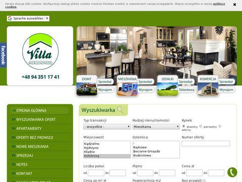 Villa agencja obrotu nieruchomościami Kołobrzeg