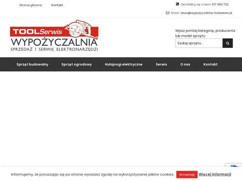 Wypozyczalnia-toolserwis.pl serwis elektronarzędzi