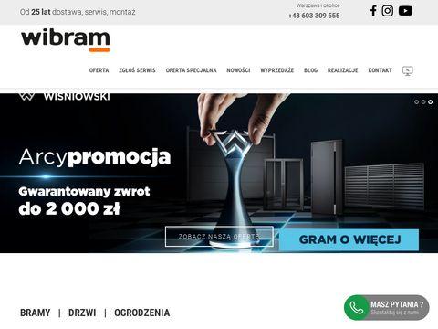 Wibram.com.pl automaty do bram Warszawa