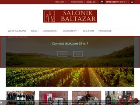 Winabaltazar.pl zestawy prezentowe