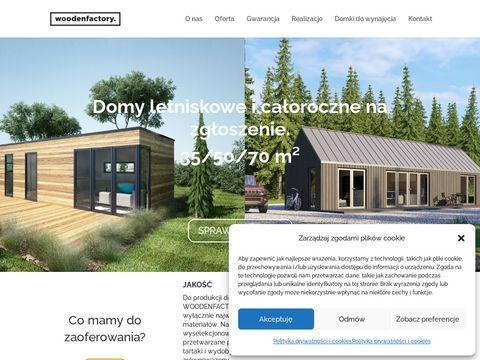 Woodenfactory - Drewniane krzesła ogrodowe
