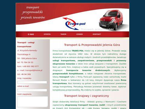 Transpol - usługi transportowe