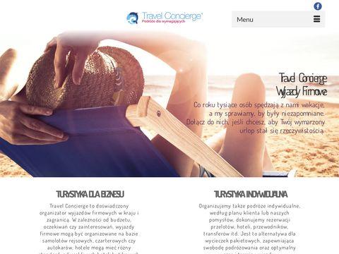 Travel Concierge - podróże na zamówienie