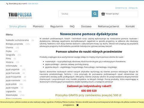 Trio Polska - pomoce dydaktyczne