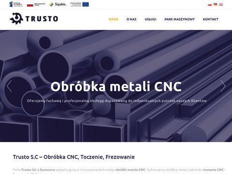 Trusto spawanie aluminium