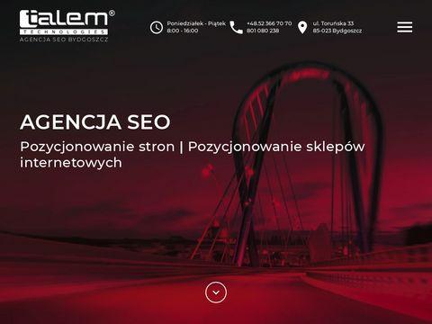 Talem.eu pozycjonowanie stron www