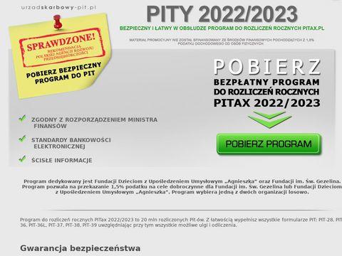 Urzadskarbowy-pit.pl program do rozliczeń